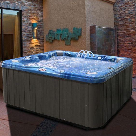 Indoor Hot Tub Ideas 16