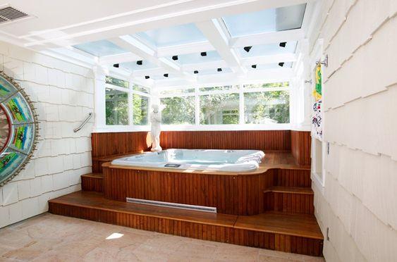 Indoor Hot Tub Ideas 17