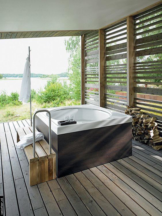 Indoor Hot Tub Ideas 18