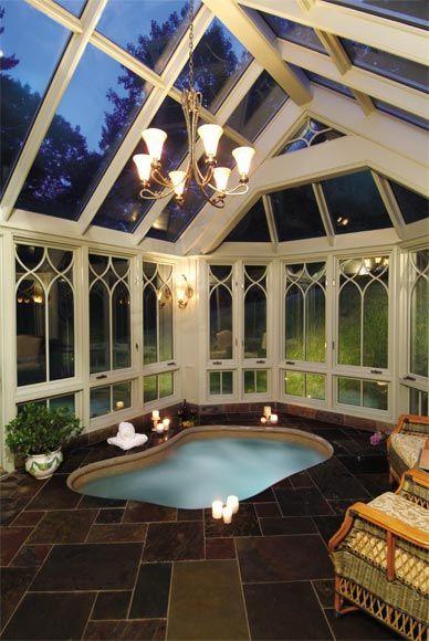 Indoor Hot Tub Ideas 19