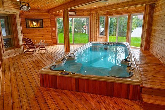 Indoor Hot Tub Ideas 21