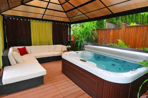 Indoor Hot Tub Ideas 22