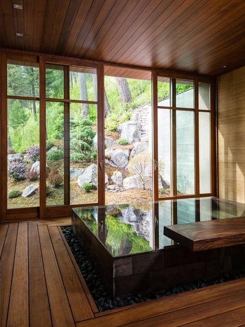 Indoor Hot Tub Ideas 23