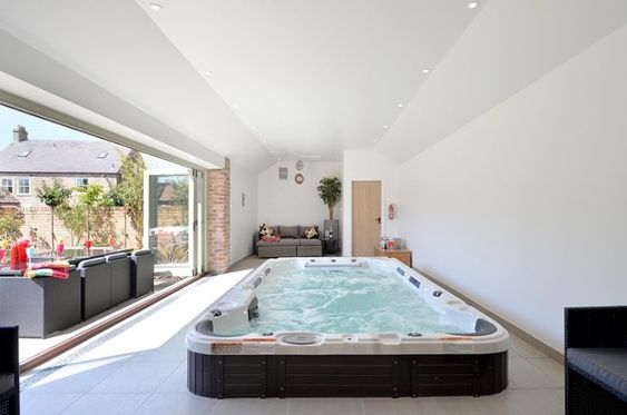 Indoor Hot Tub Ideas 25