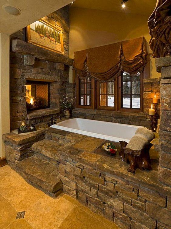 Indoor Hot Tub Ideas 7