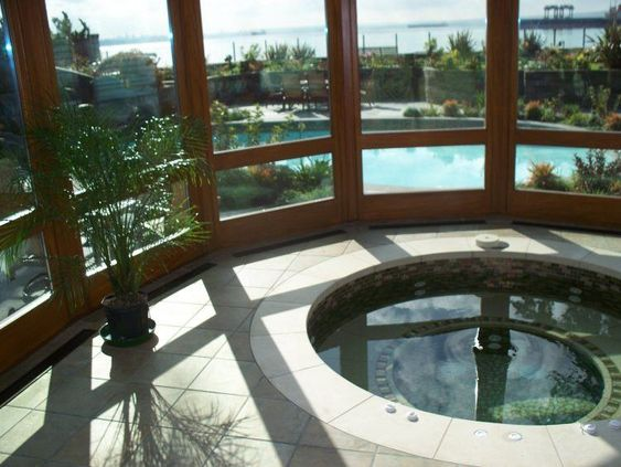 Indoor Hot Tub Ideas 8