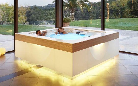 Indoor Hot Tub Ideas 9