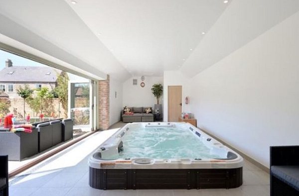 Indoor Hot Tub Ideas feature