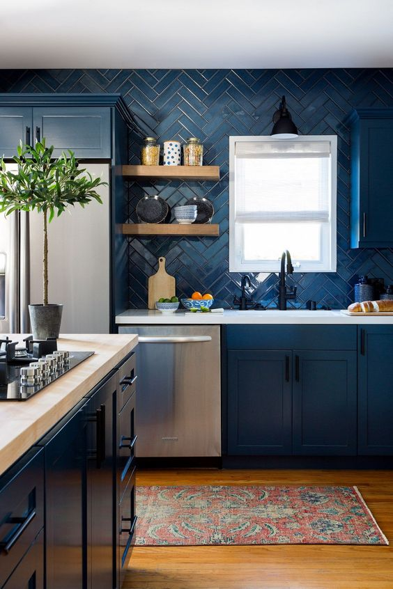 Kitchen Colors Ideas: Stunning Nautical Decor