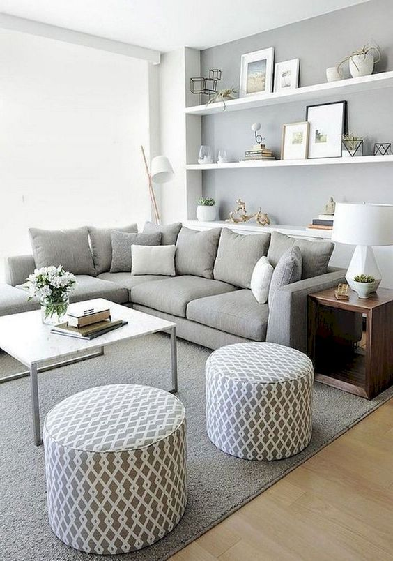 Modern Living Room Ideas: Earthy Neutral Decor