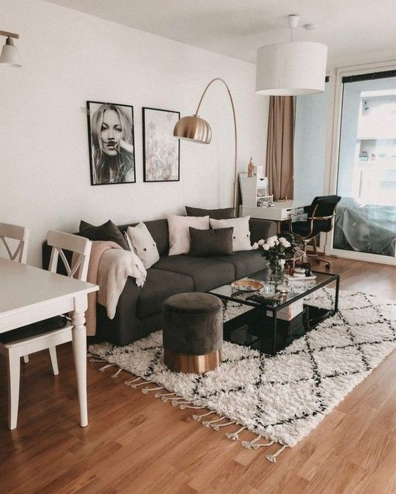 Modern Living Room Ideas: Simple Boho Decor
