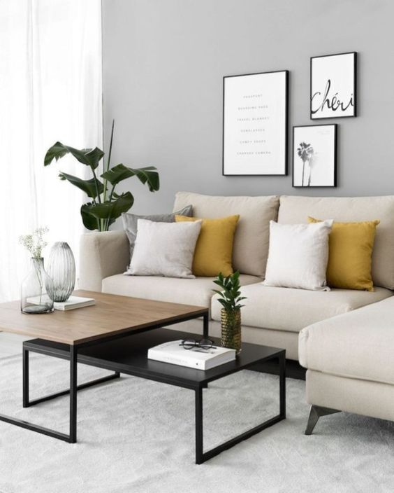Neutral Living Room Ideas 11