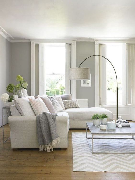Neutral Living Room Ideas 13