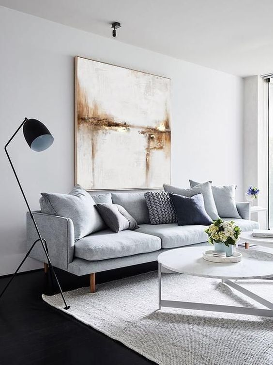 Neutral Living Room Ideas: Stylish Monochrome Decor