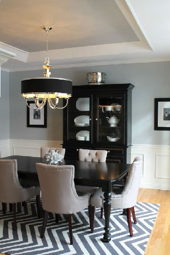 Traditional Dining Room Ideas: Catchy Transitional Decor
