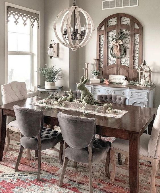 Traditional Dining Room Ideas 22