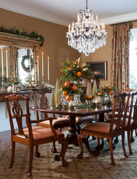 Traditional Dining Room Ideas 23