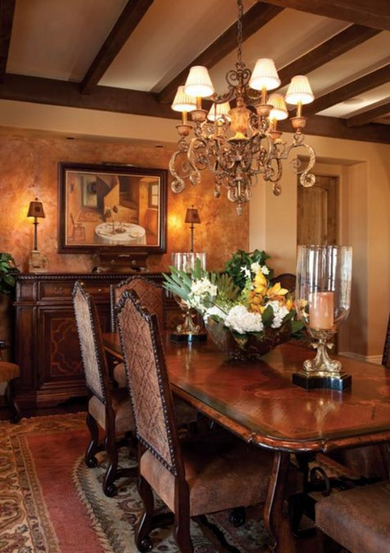 Traditional Dining Room Ideas 24