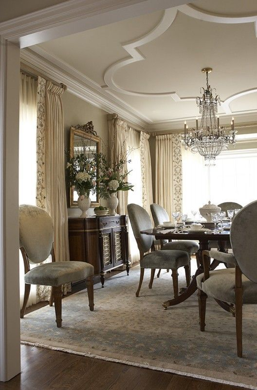 Traditional Dining Room Ideas 25