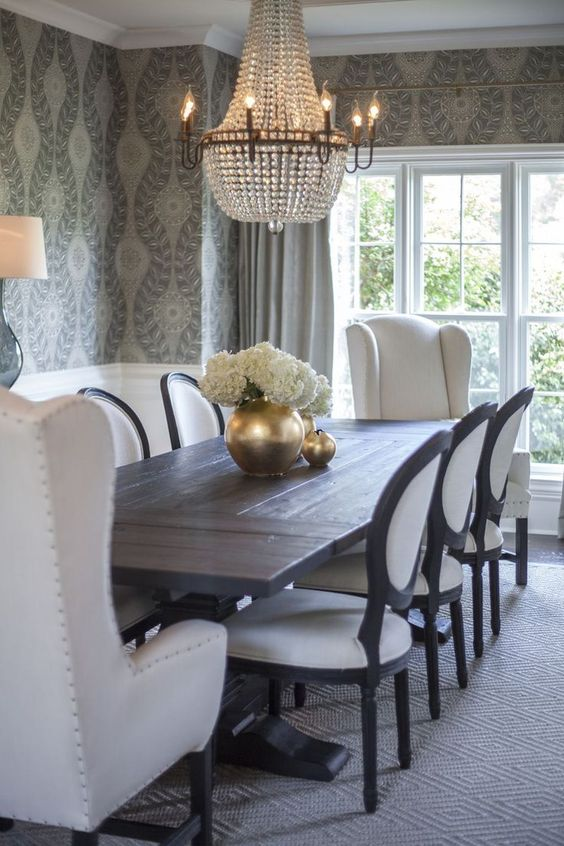 Traditional Dining Room Ideas 28