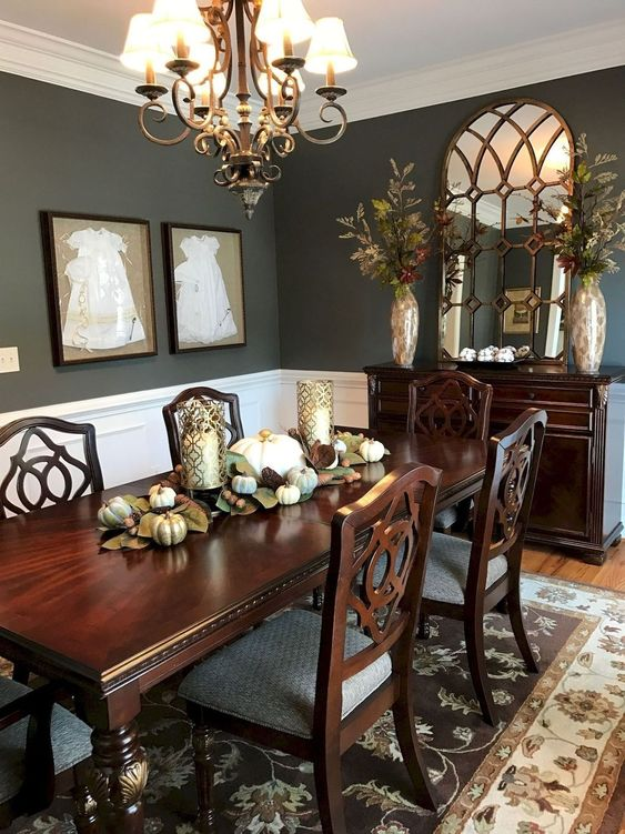 Traditional Dining Room Ideas 29