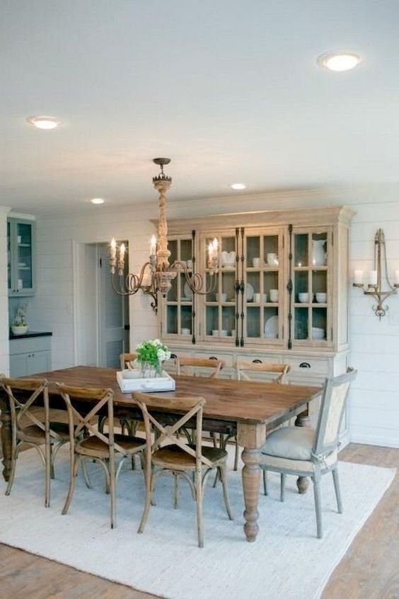 Traditional Dining Room Ideas: Beautiful Rustic Decor