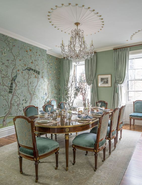 Traditional Dining Room Ideas 9
