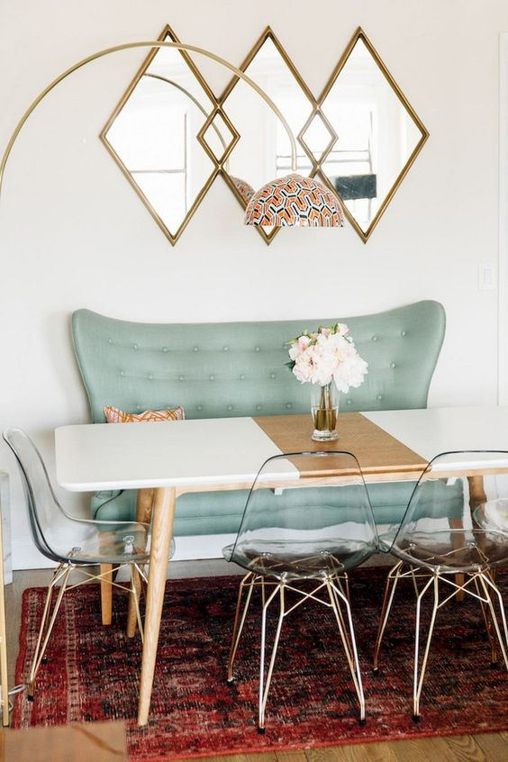 Dining Room Apartment Ideas: Stunning Eclectic Decor