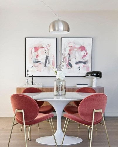 Dining Room Apartment Ideas: Pretty Chic Decor