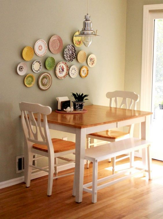 Dining Room Apartment Ideas: Catchy Farmhouse Decor