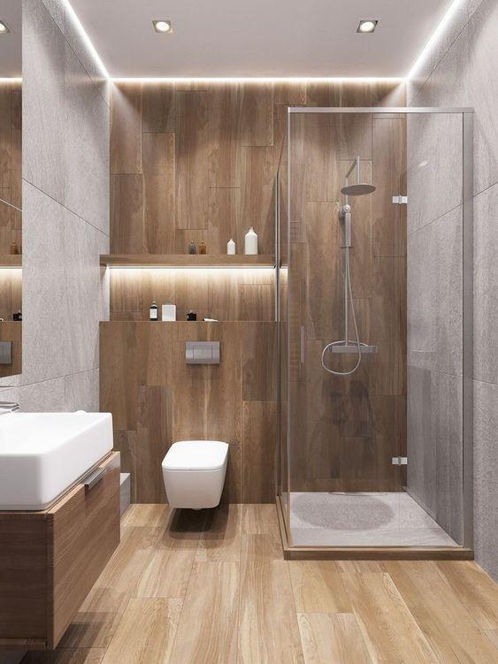 Bathroom Wood Ideas 11