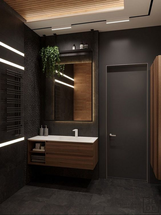 Bathroom Wood Ideas 13
