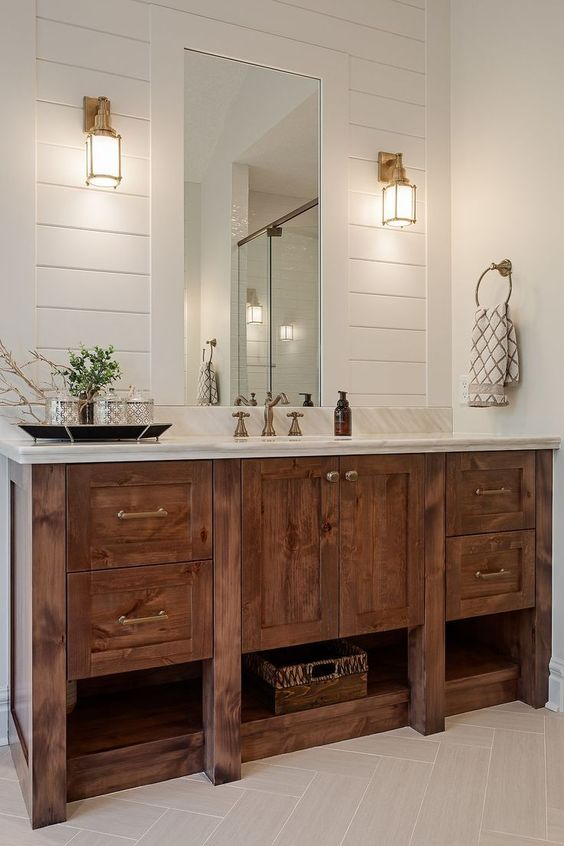 Bathroom Wood Ideas 18