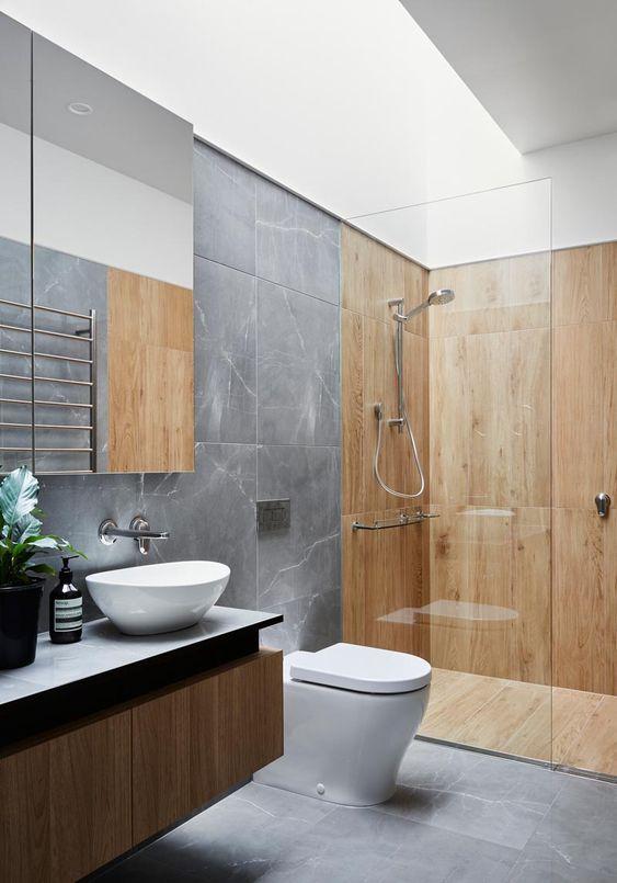 Bathroom Wood Ideas: Soft Scandinavian Look