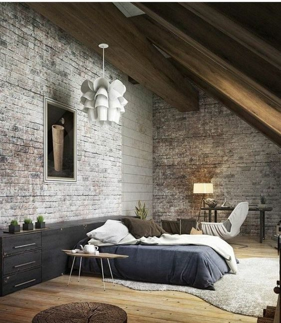 Industrial Bedroom Ideas 10