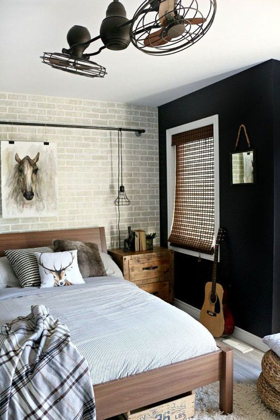 Industrial Bedroom Ideas 14