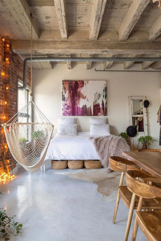 Industrial Bedroom Ideas 19