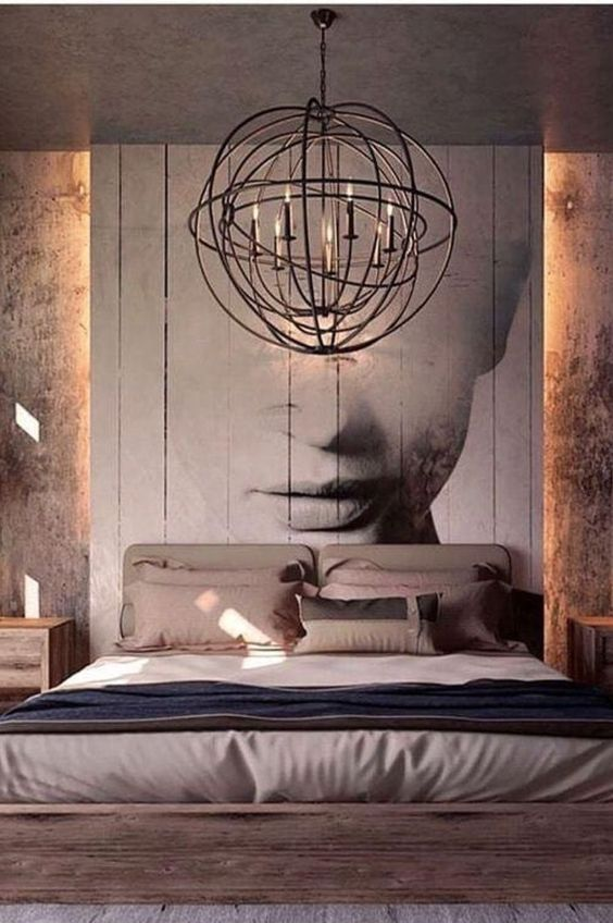 Industrial Bedroom Ideas 6