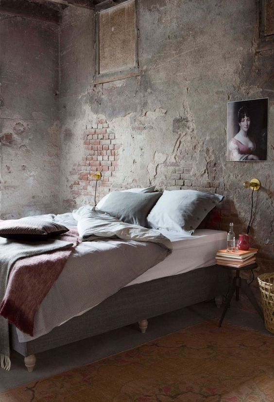 Industrial Bedroom Ideas 9