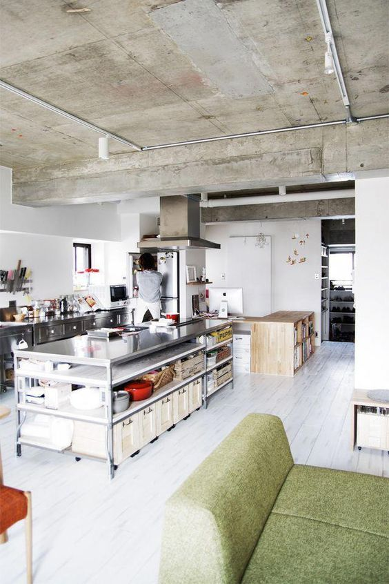 Industrial Kitchen Ideas 15