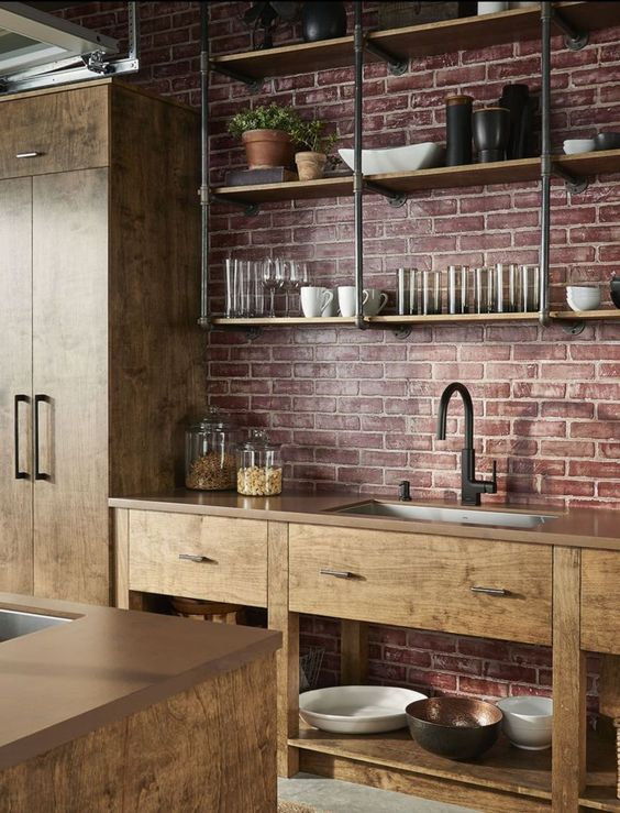 Industrial Kitchen Ideas 16