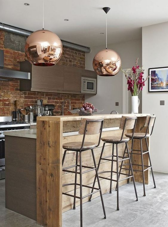 Industrial Kitchen Ideas 17