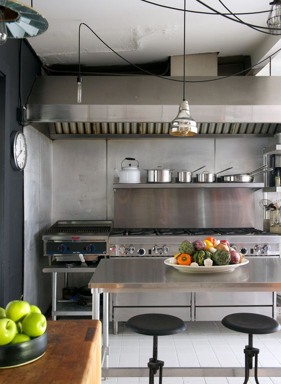 Industrial Kitchen Ideas 21