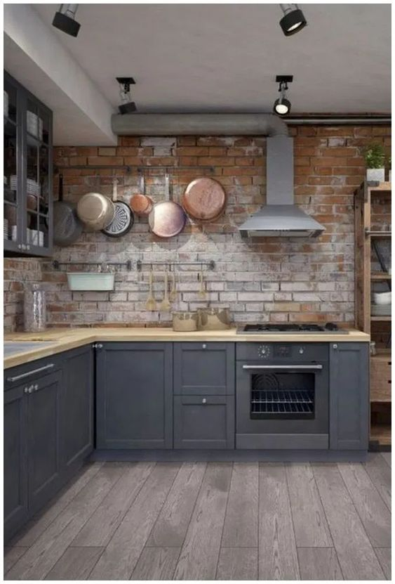 Industrial Kitchen Ideas 5