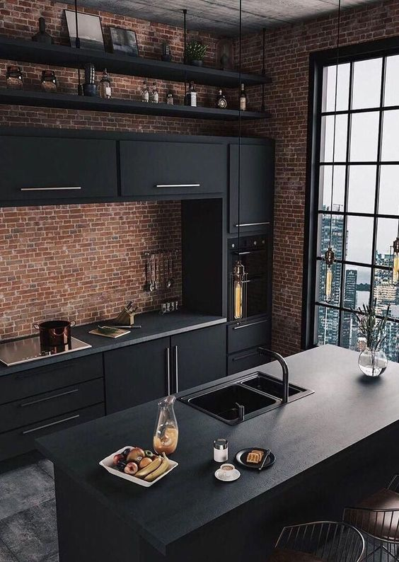 Industrial Kitchen Ideas 7