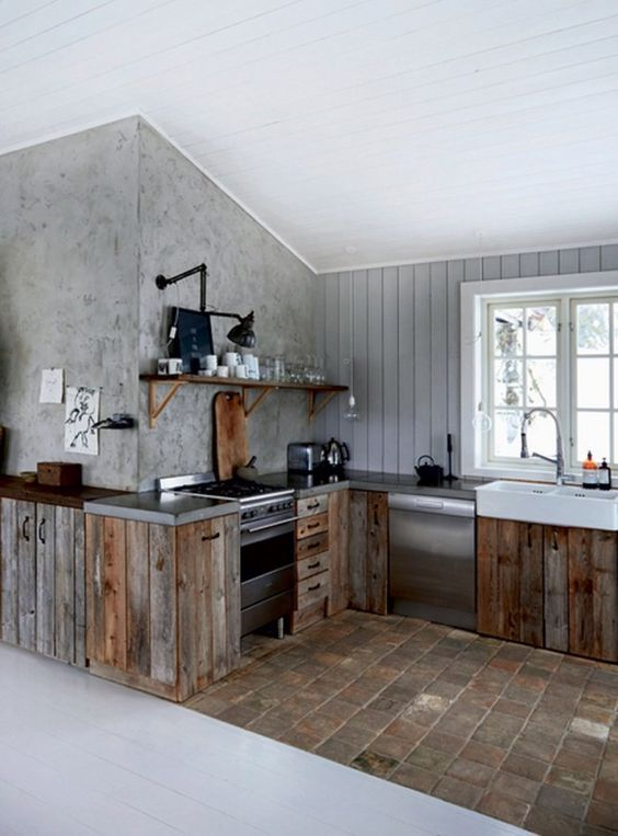 Industrial Kitchen Ideas 9