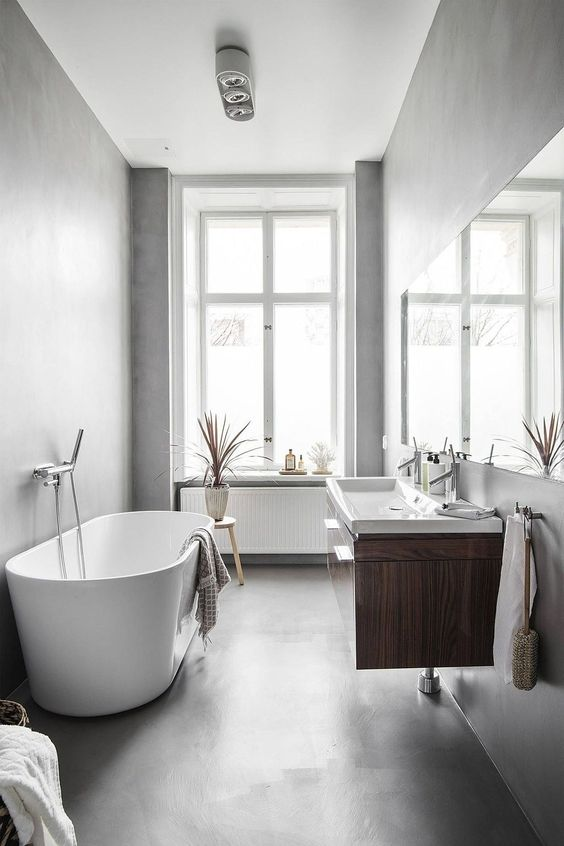 Scandinavian Bathroom Ideas: Breathtaking Small Bathroom