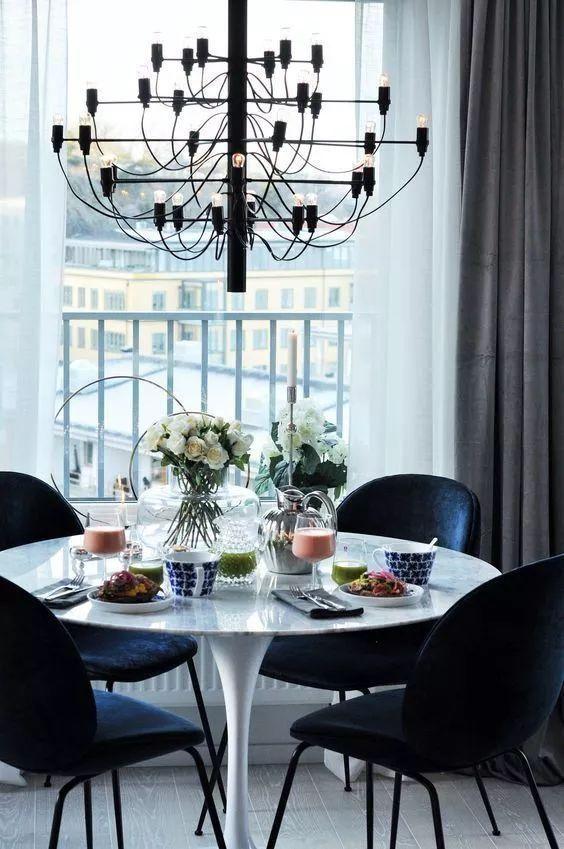 Black Dining Room Ideas 10