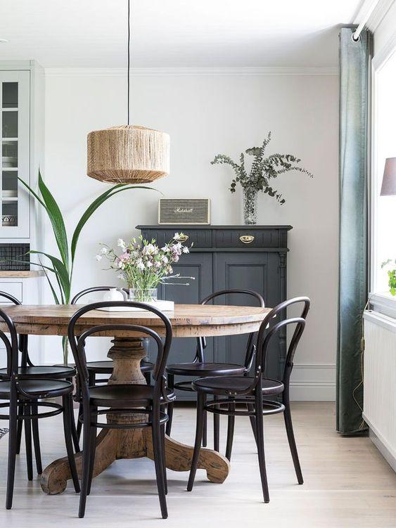 Black Dining Room Ideas 11