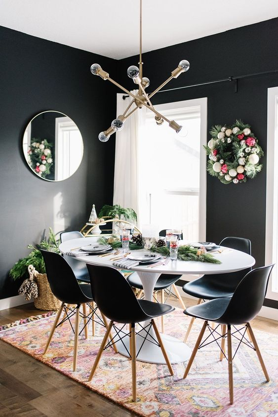 Black Dining Room Ideas: Stunning Contemporary Style